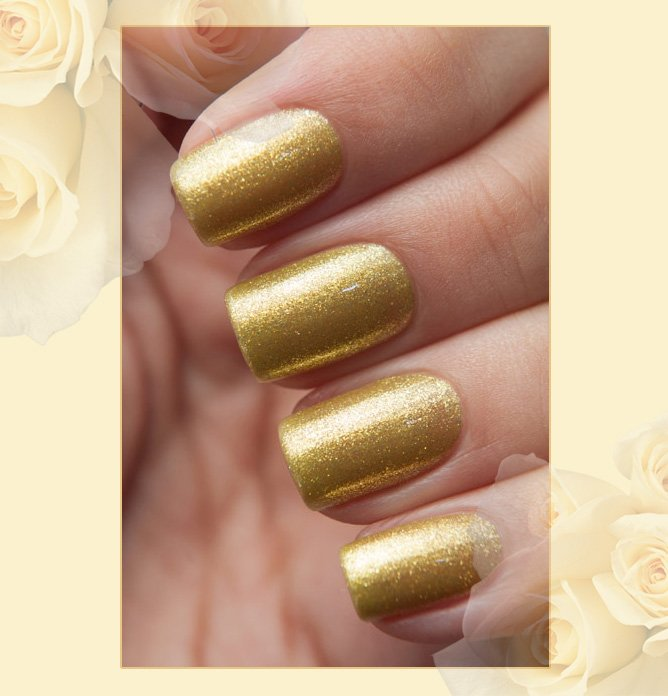 EL Corazon Active Bio-gel Color gel polish Magic №423/574 Golden Fleece