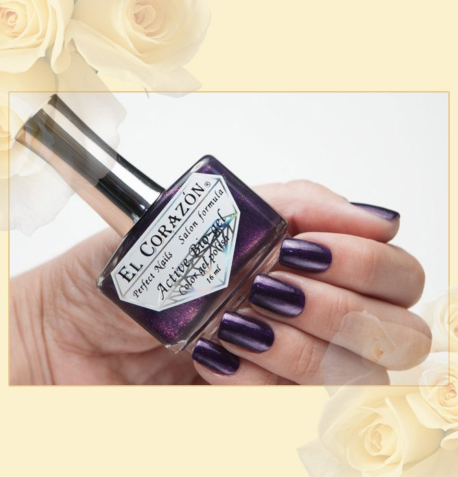EL Corazon Active Bio-gel Color gel polish Magic №423/580 Magic of the Arabian Nights