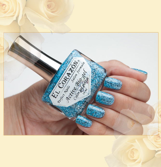 EL Corazon Active Bio-gel Color gel polish Fenechka №423/127