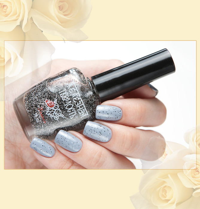 EL Corazon Art Top Coat 421/6 Salt and pepper - Соль и перец