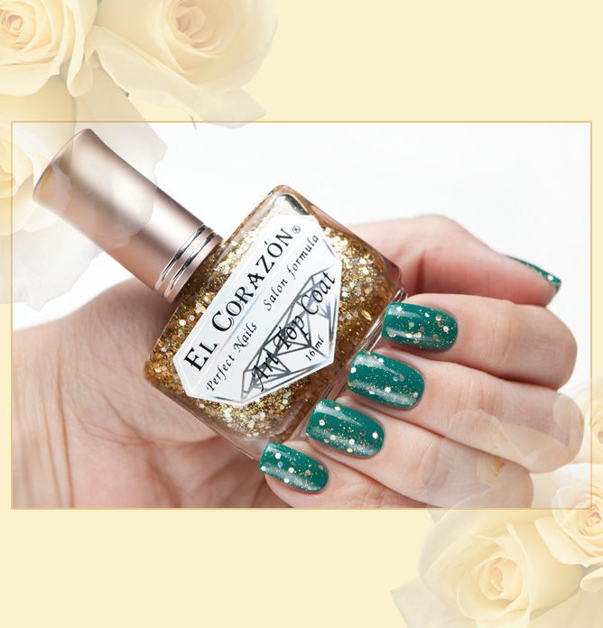 EL Corazon Art Top Coat 421/9 Gold leaf