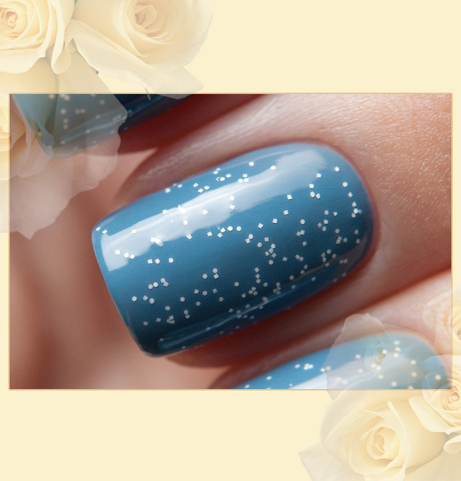 EL Corazon Art Top Coat 421/10 Snow happiness