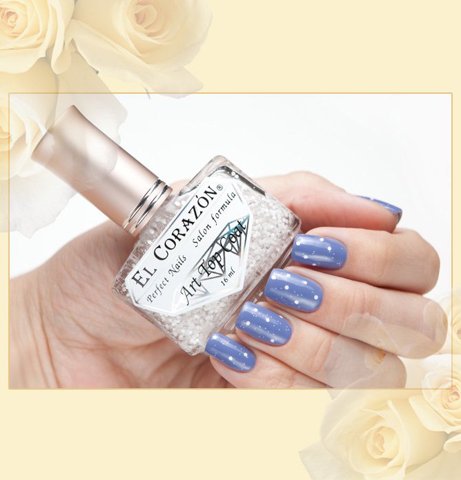 EL Corazon Art Top Coat 421/11 Dreams in dotty