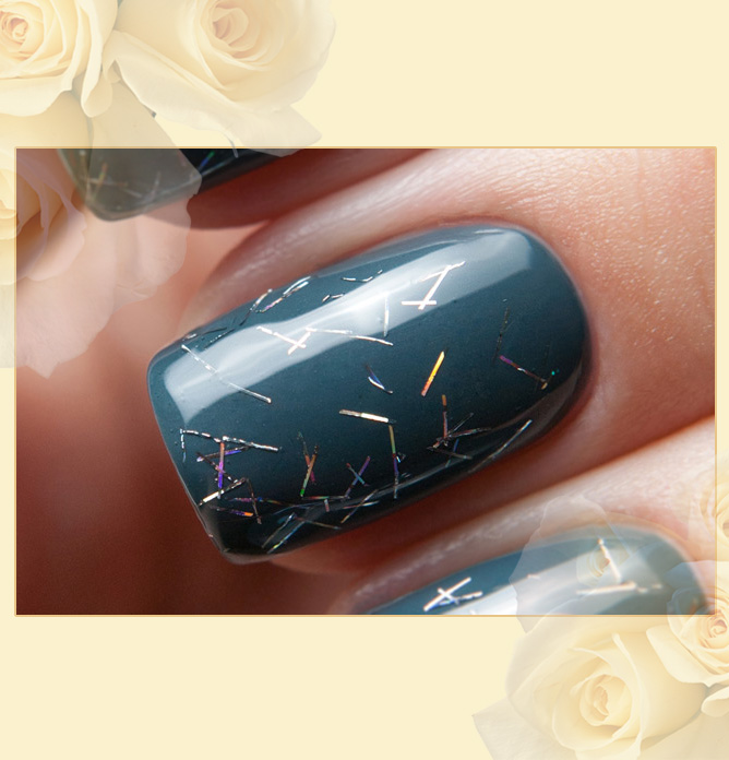 EL Corazon Art Top Coat 421/13 Blind rainbow rain