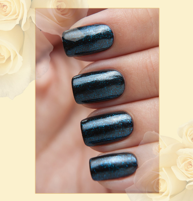 EL Corazon Art Top Coat 421/21 Голубая лагуна