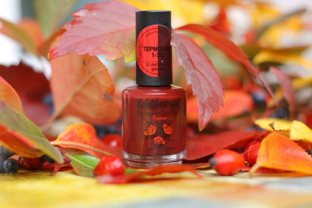 Thermal Nail Polish, �������� ��� ������, �������� ��� ������ t-28 Kaleidoscope EL Corazon
