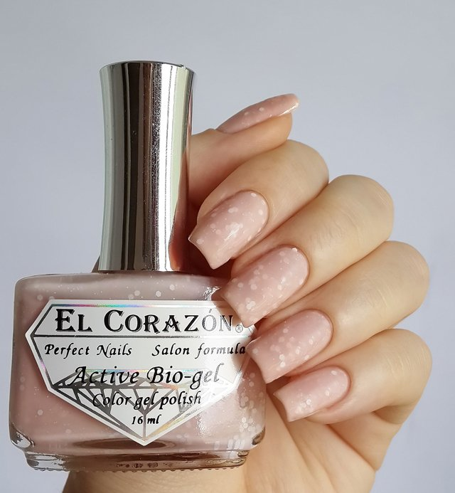 EL Corazon Active Bio-gel Color gel polish Fashion girl Fashion girl in the office №423/201