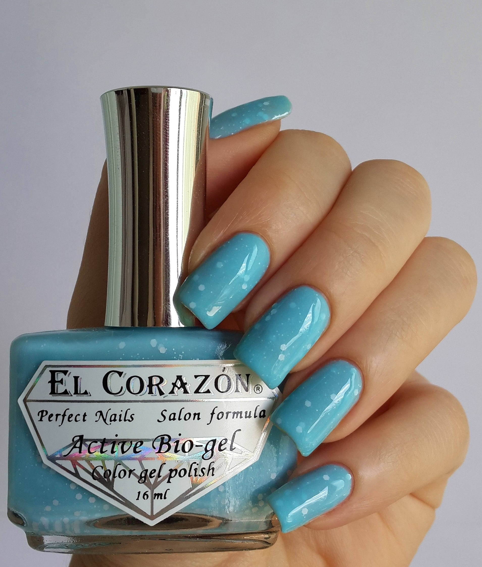 EL Corazon Active Bio-gel Color gel polish Fashion girl on a beach №423/204