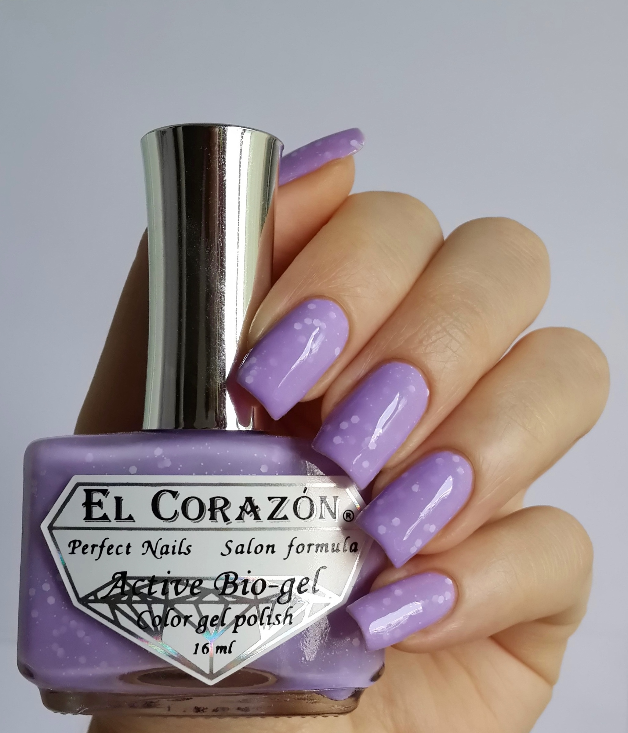 EL Corazon Active Bio-gel Color gel polish Fashion girl on shopping №423/205