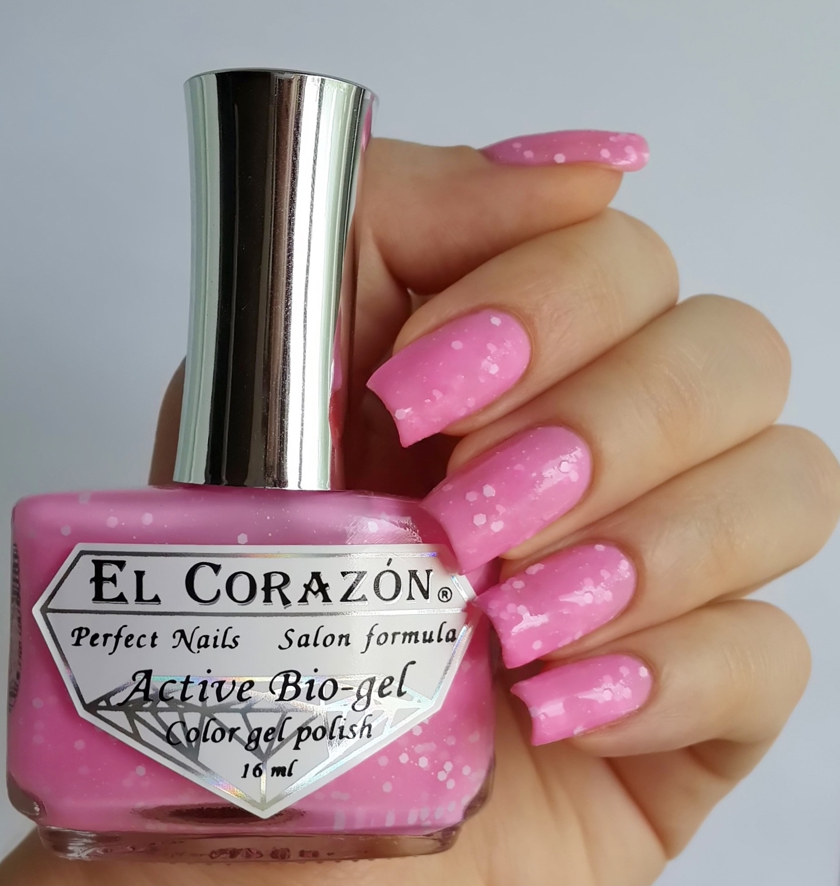 EL Corazon Active Bio-gel Color gel polish Fashion girl on a party №423/206