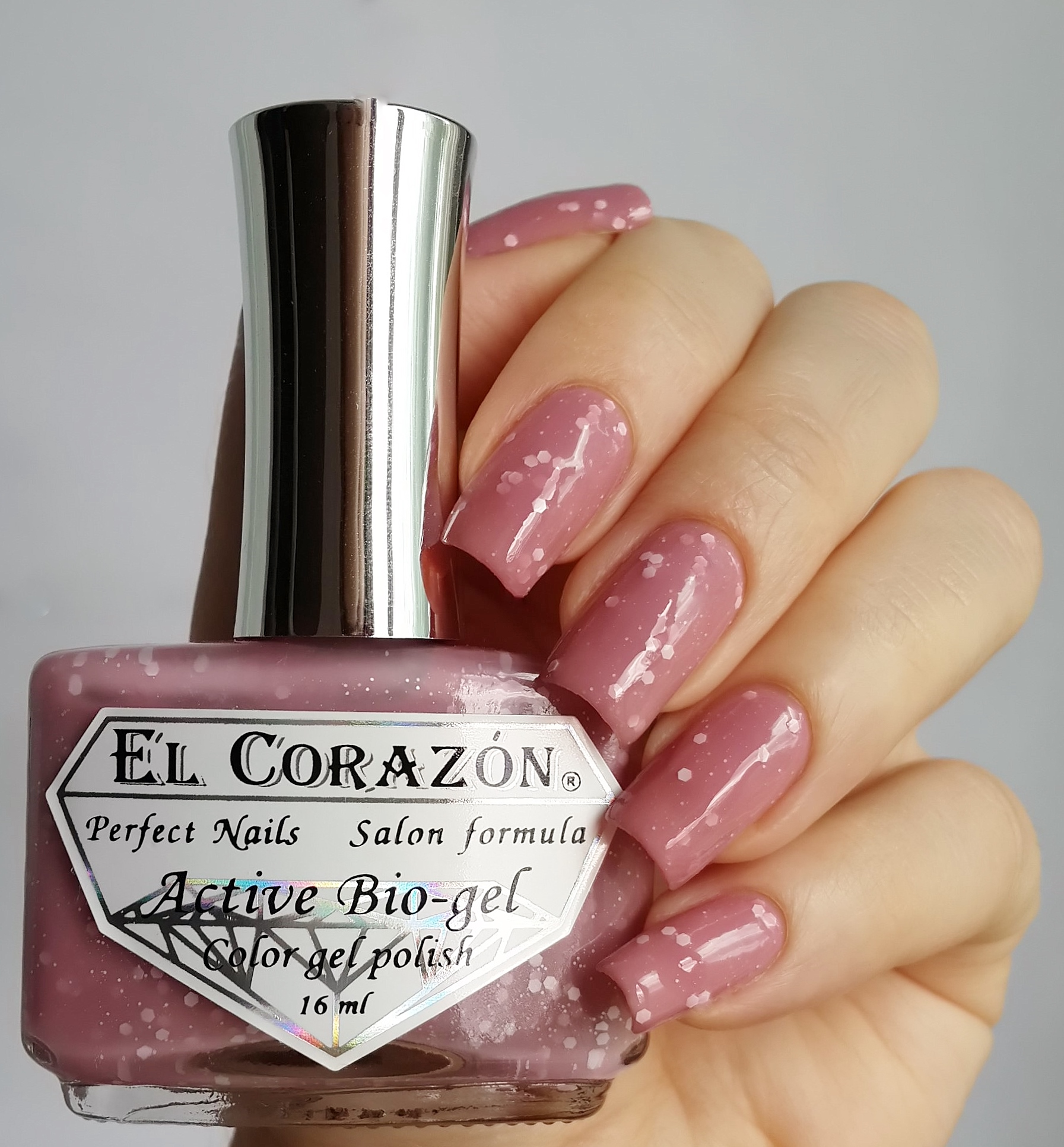 EL Corazon Active Bio-gel Color gel polish Fashion girl on a premiere №423/207