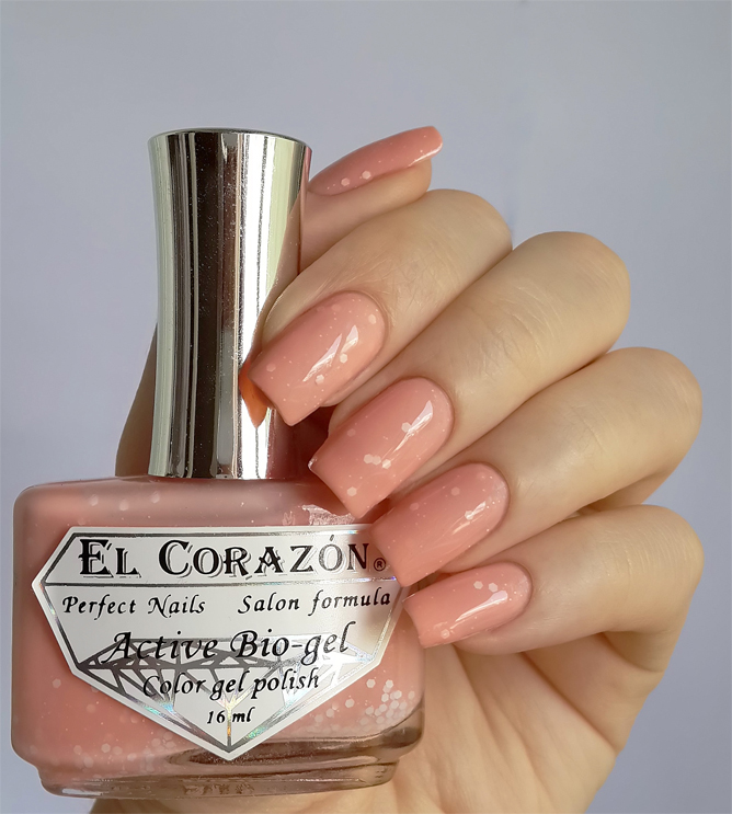 EL Corazon Active Bio-gel Color gel polish Fashion girl in the cruise №423/209