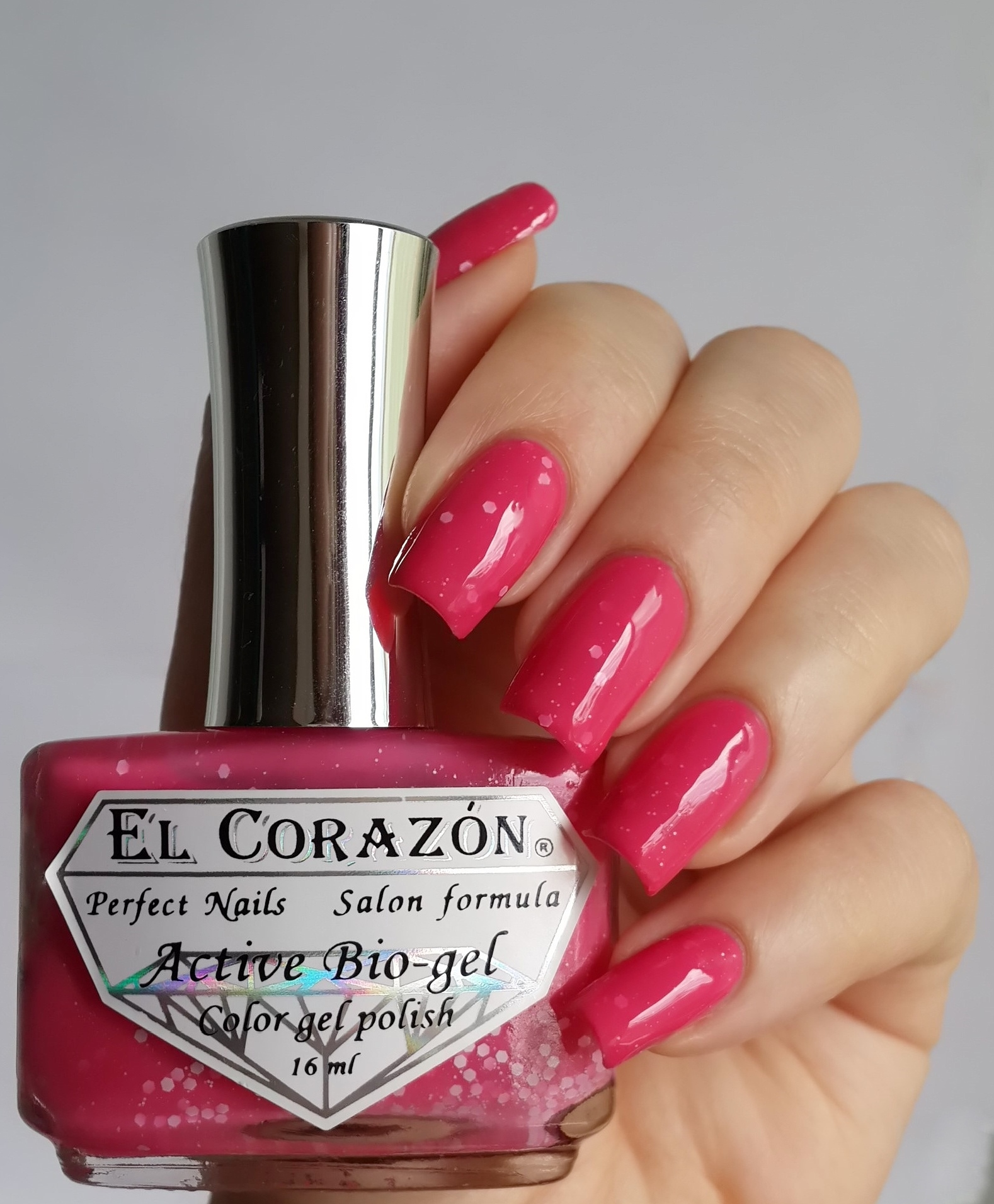 EL Corazon Active Bio-gel Color gel polish Fashion girl on a tryst №423/210