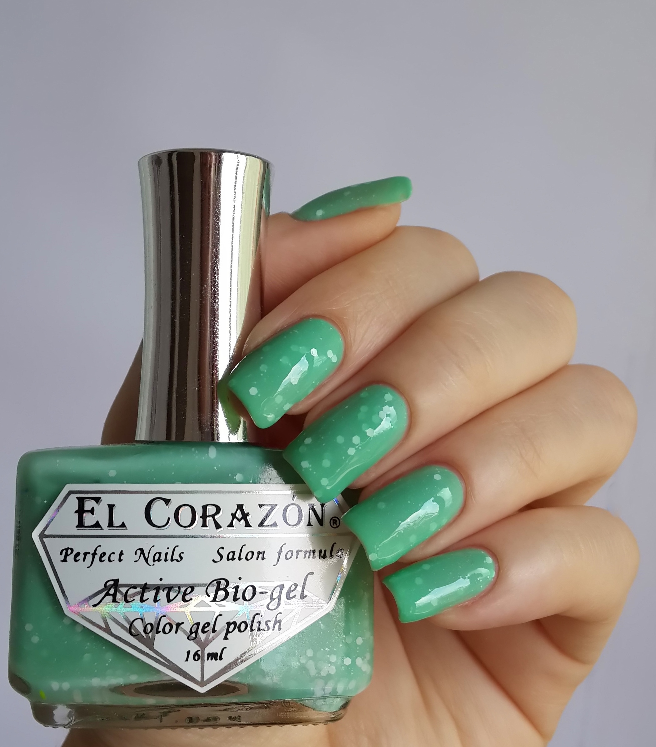 EL Corazon Active Bio-gel Color gel polish Fashion girl mammy №423/212