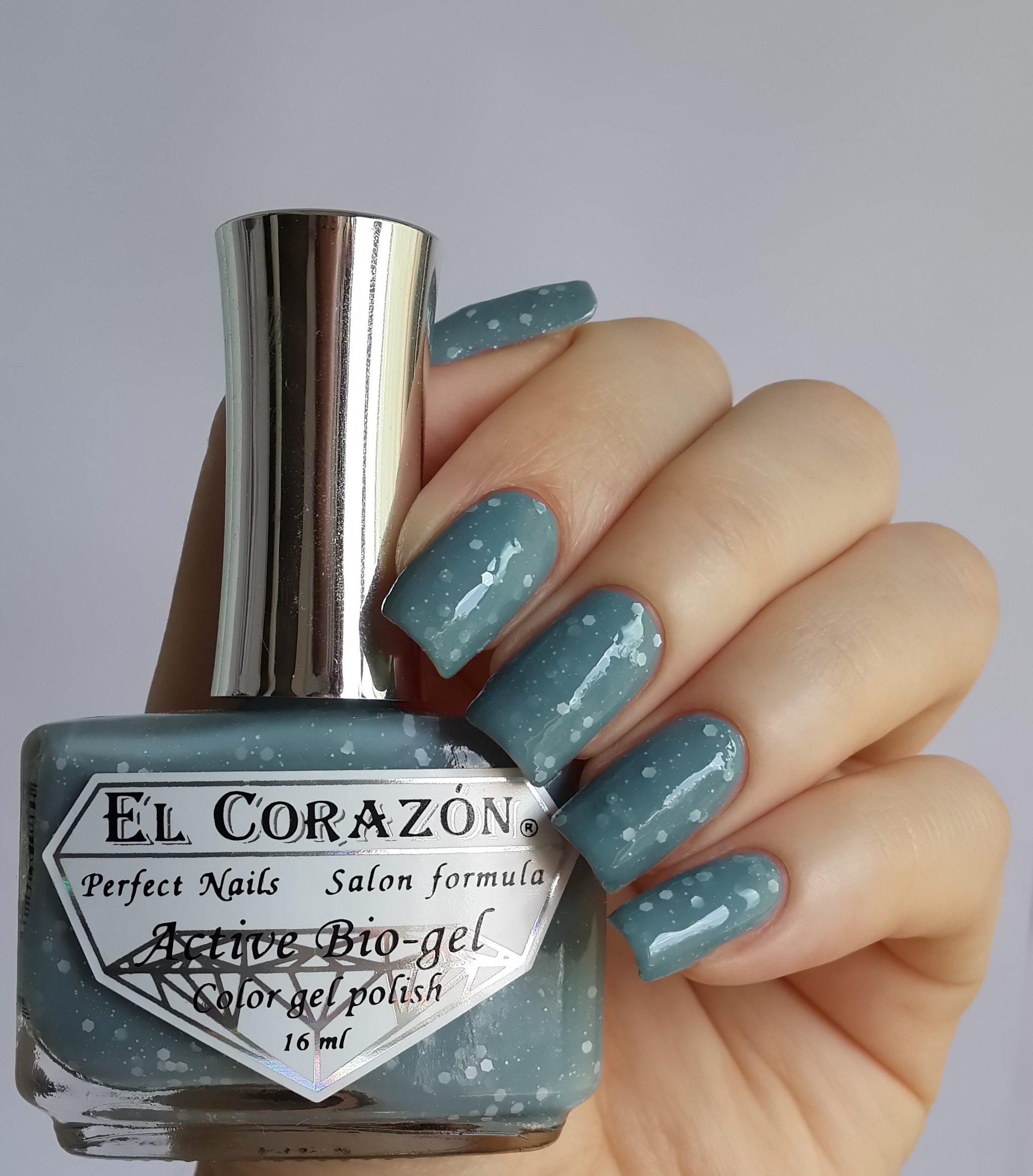 EL Corazon Active Bio-gel Color gel polish Fashion girl in the Paris №423/213