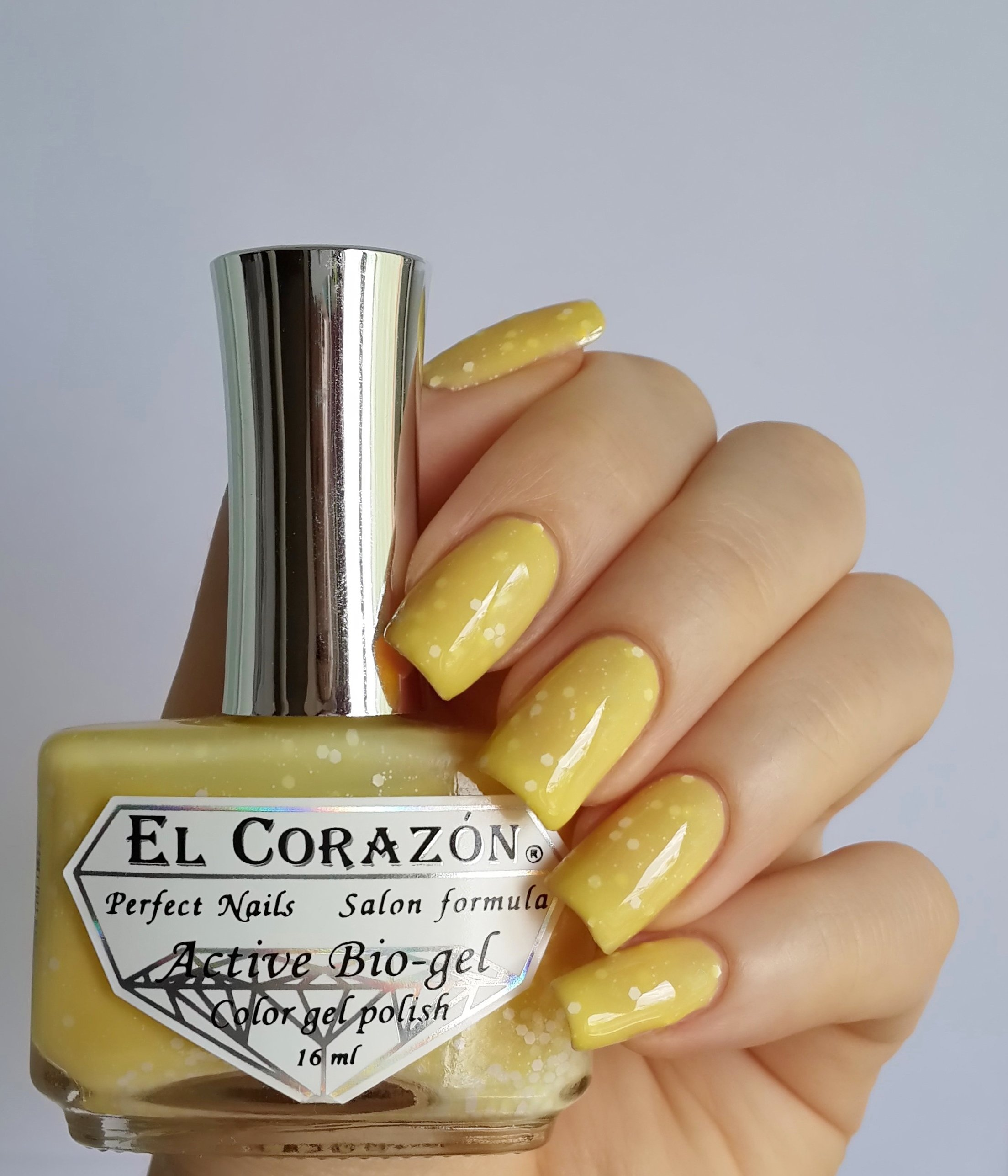 EL Corazon Active Bio-gel Color gel polish Fashion girl at the wheel №423/202