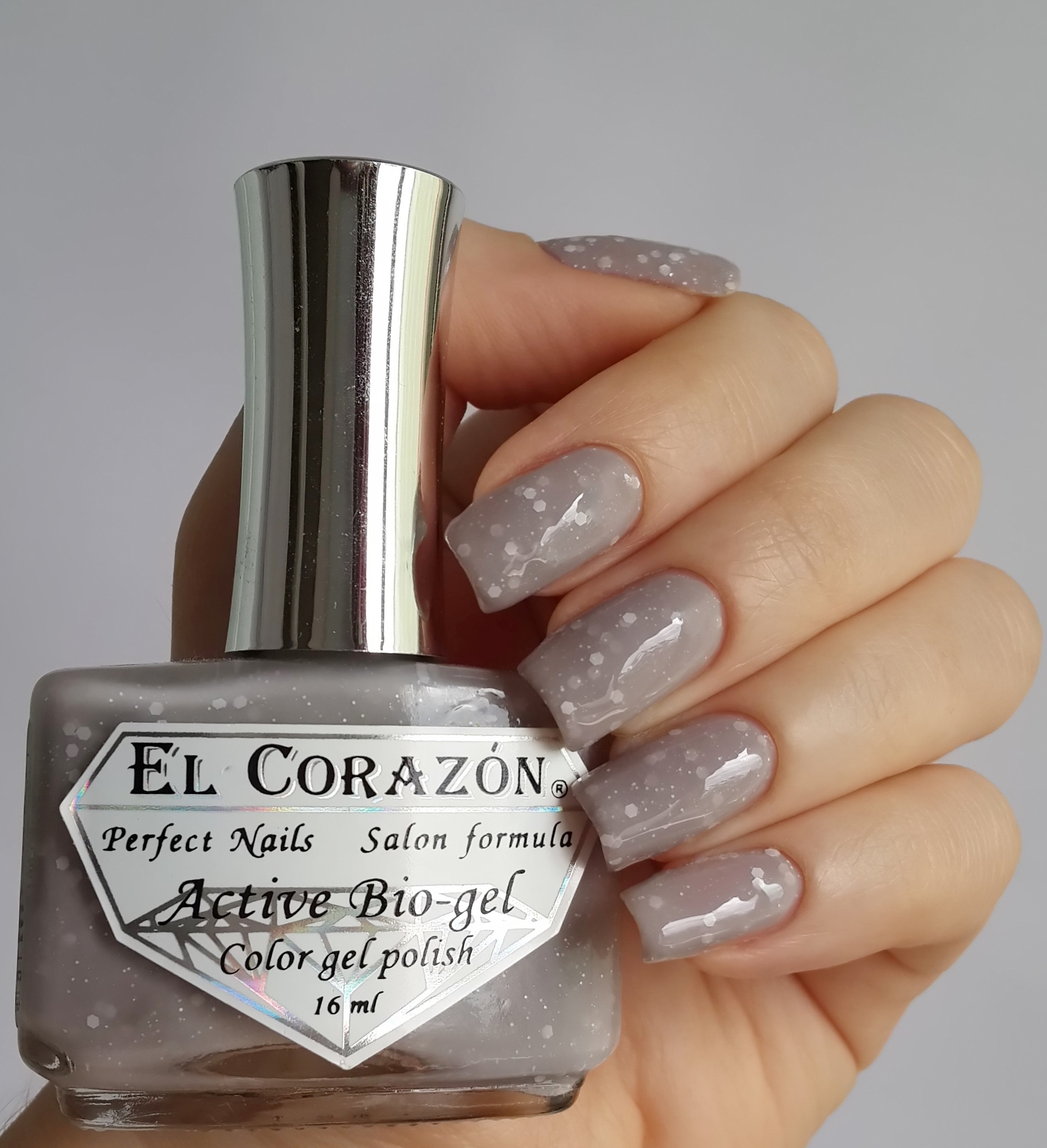 EL Corazon Active Bio-gel Color gel polish Fashion girl on a fitness №423/214
