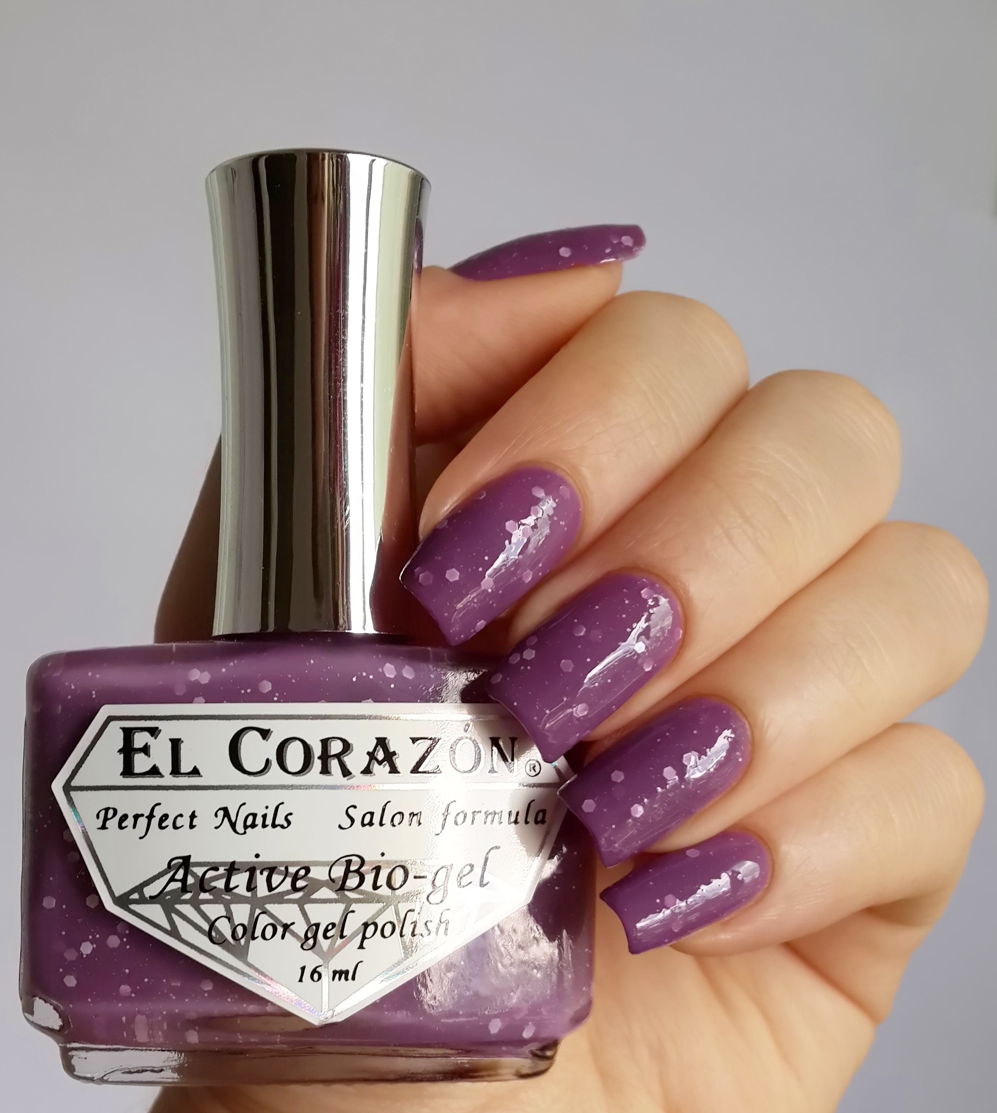 EL Corazon Active Bio-gel Color gel polish Fashion girl on a disco №423/215