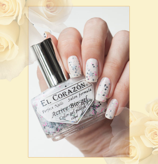 EL Corazon Active Bio-gel Color gel polish Hocus - pocus №423/153