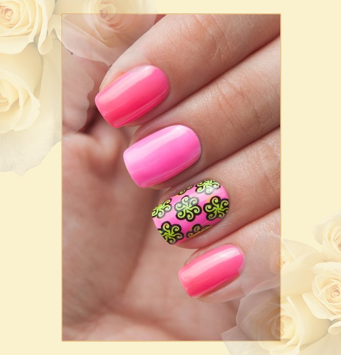 EL Corazon Active Bio-gel Color gel polish Jelly neon №423/255