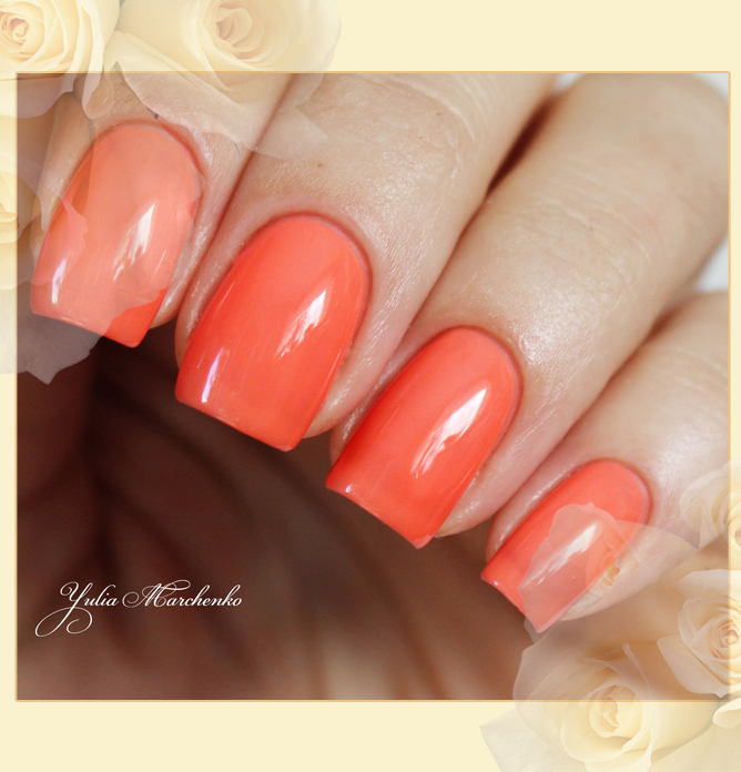 EL Corazon Active Bio-gel Color gel polish Jelly neon №423/254