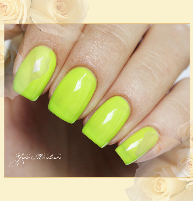 EL Corazon Active Bio-gel Color gel polish Jelly neon №423/251