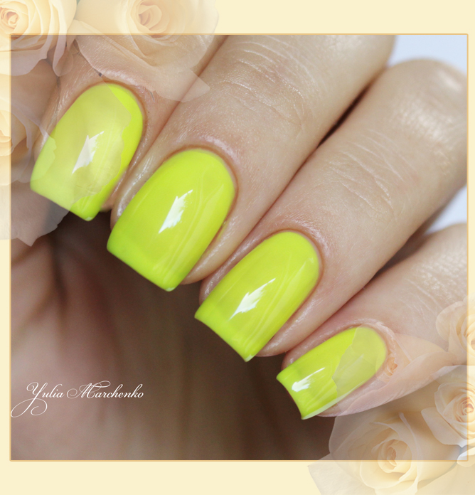 EL Corazon Active Bio-gel Color gel polish Jelly neon №423/253