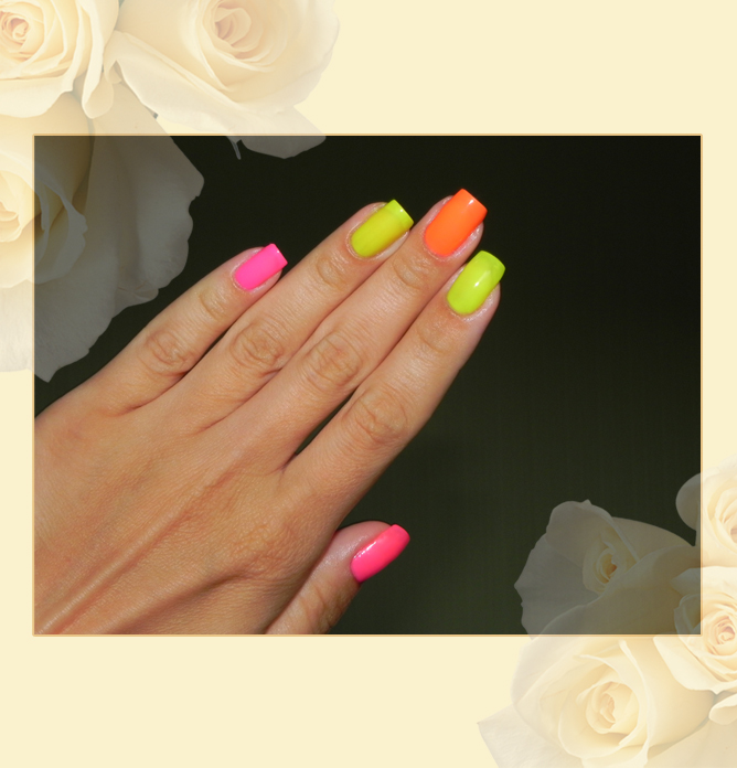 EL Corazon Active Bio-gel Color gel polish Jelly neon №423/257
