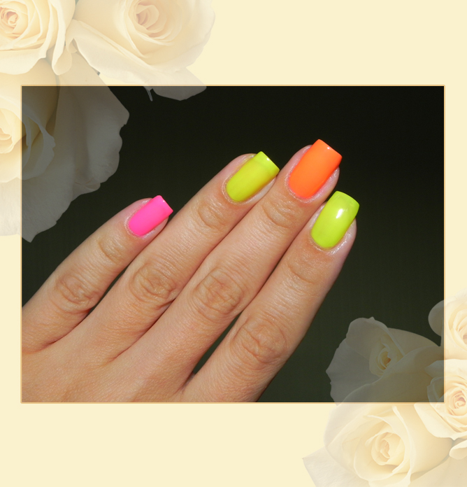 EL Corazon Active Bio-gel Color gel polish Jelly neon
