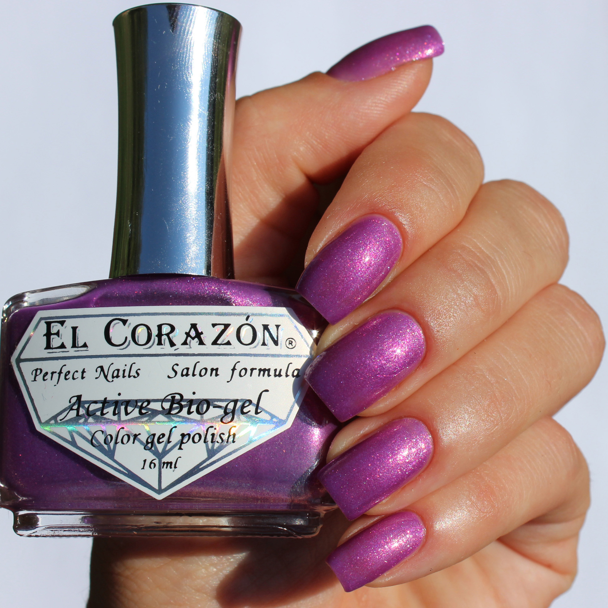 El Corazon Active Bio-gel № 423/552 Magic Purple Charm