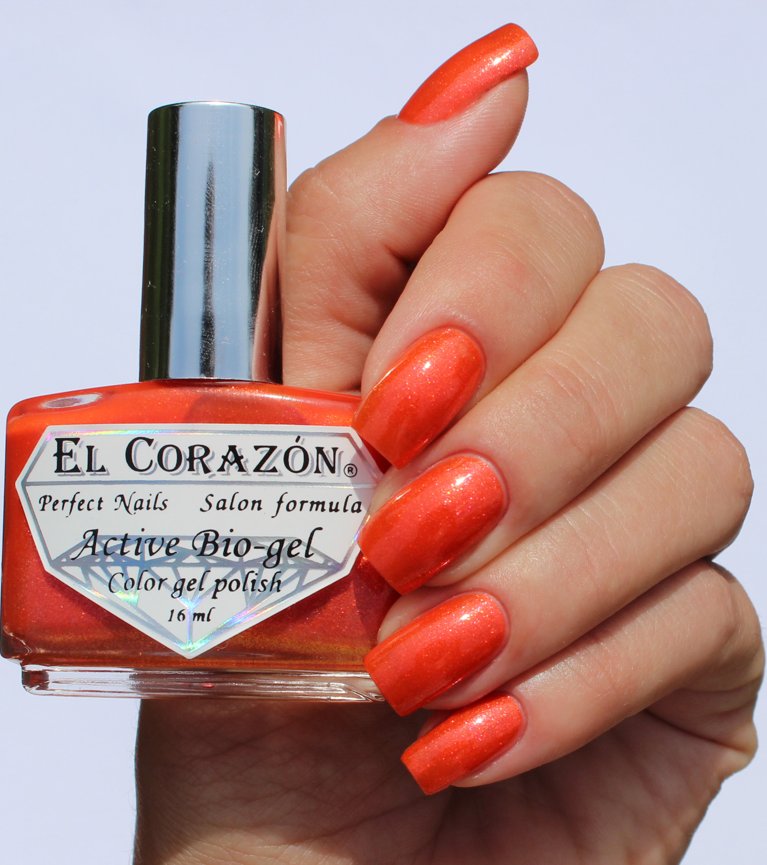 EL Corazon Active Bio-gel Color gel polish Magic №423/561 Magic tail kamet
