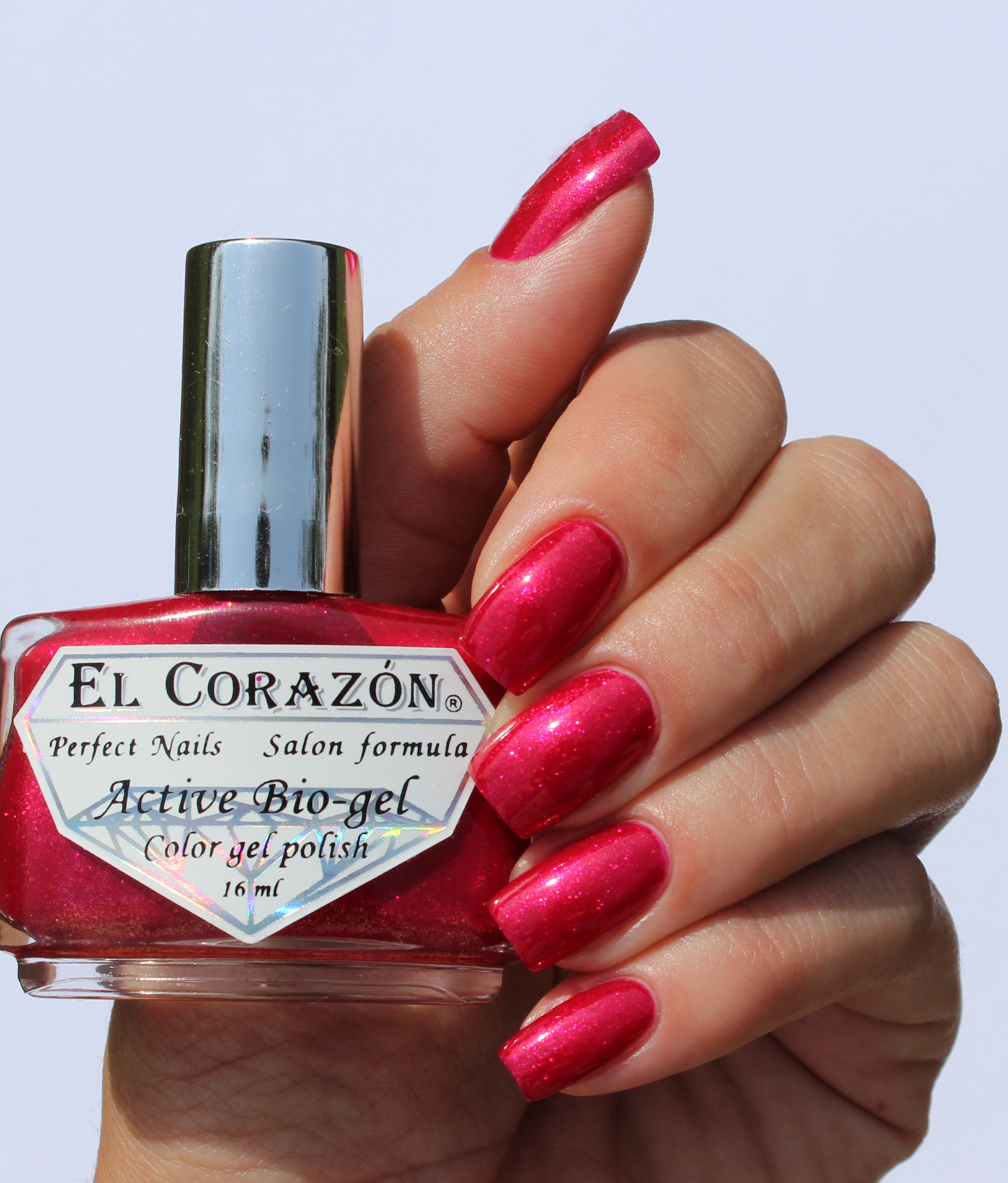 EL Corazon Active Bio-gel Color gel polish Magic №423/570 Magic kiss of Venus