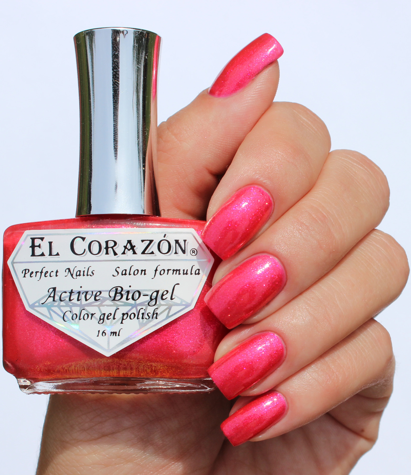 EL Corazon Active Bio-gel Color gel polish Magic №423/581 Magic of the Arabian Nights