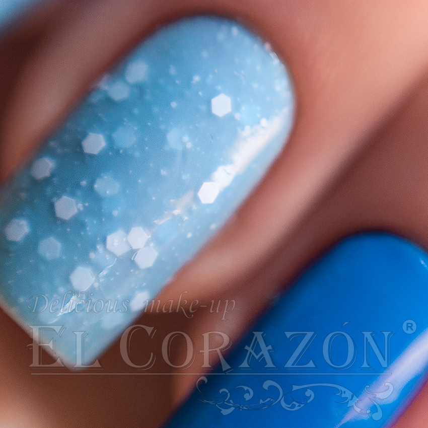 EL Corazon Jelly neon №423/204 и Fashion girl №423/252, EL Corazon Active Bio-gel Color gel polish
