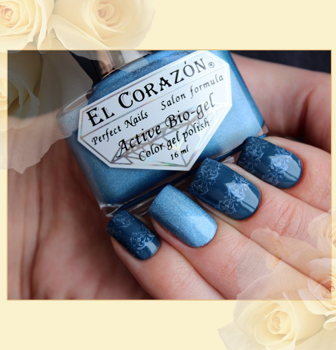 EL Corazon Active Bio-gel Color gel polish 423/37