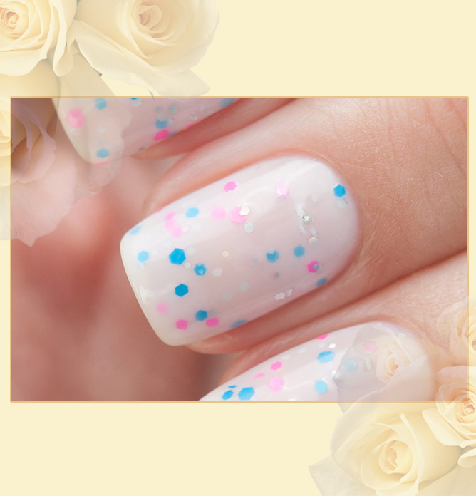 EL Corazon Active Bio-gel Color gel polish Easter cakes №423/112