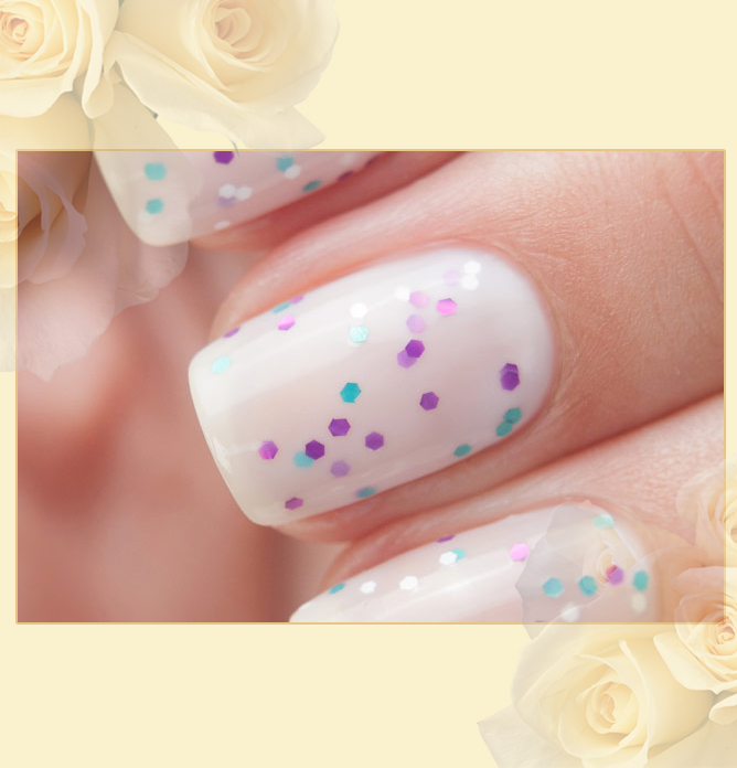 EL Corazon Active Bio-gel Color gel polish Easter cakes №423/113