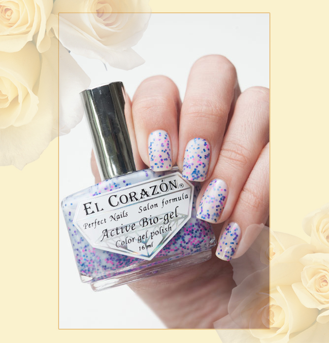 EL Corazon Active Bio-gel Color gel polish Easter cakes №423/114