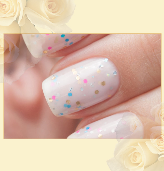 EL Corazon Active Bio-gel Color gel polish Easter cakes №423/109