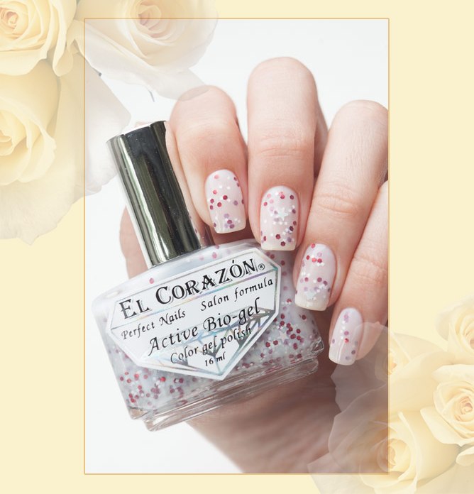 EL Corazon Active Bio-gel Color gel polish Easter cakes №423/111
