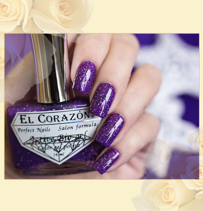 EL Corazon Active Bio-gel Color gel polish Fenechka, EL Corazon Fenechka collection