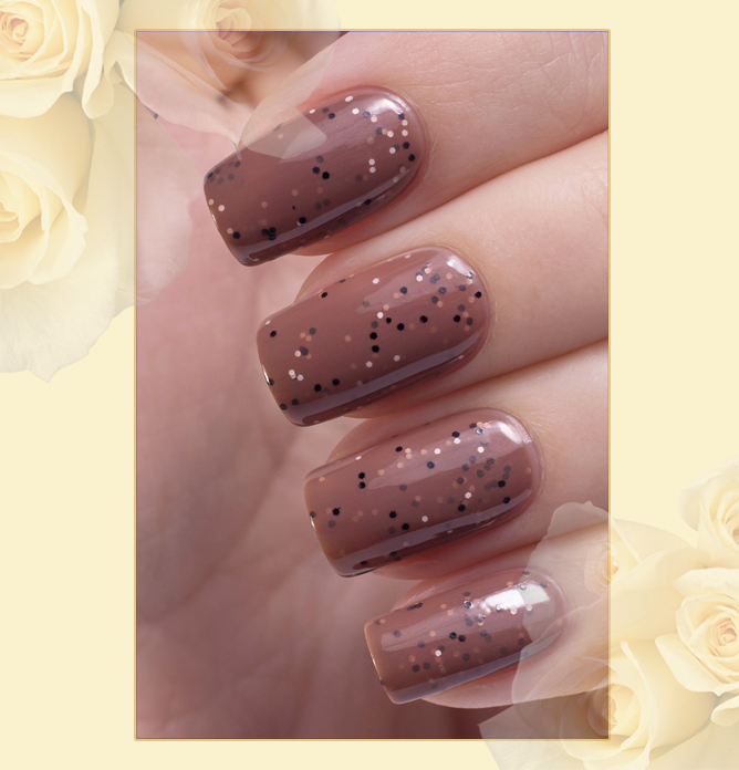 EL Corazon Active Bio-gel Color gel polish Fenechka №423/138, EL Corazon Fenechka collection