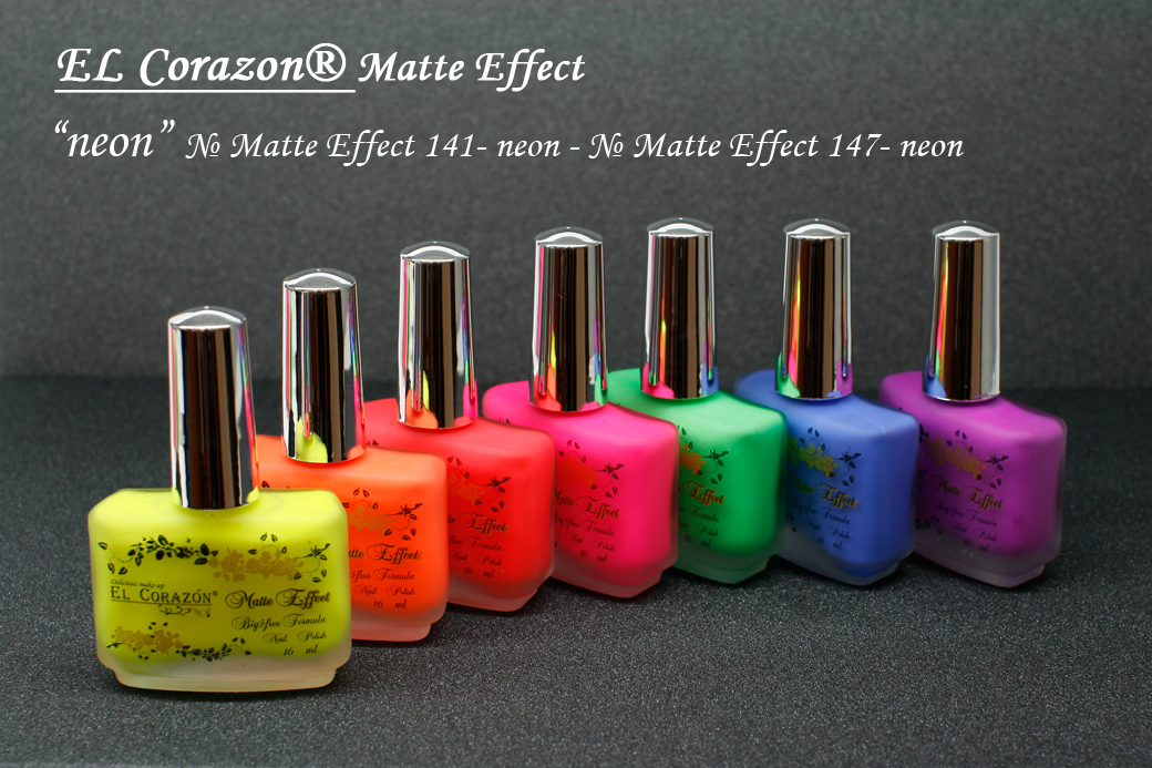������� ��� ��� ������ EL Corazon Matte Effect