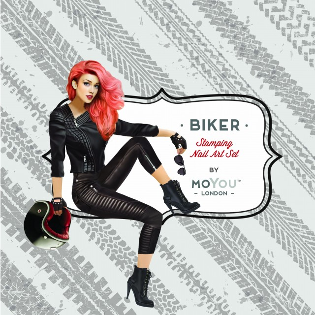 пластины для стемпинга MoYou-London Biker