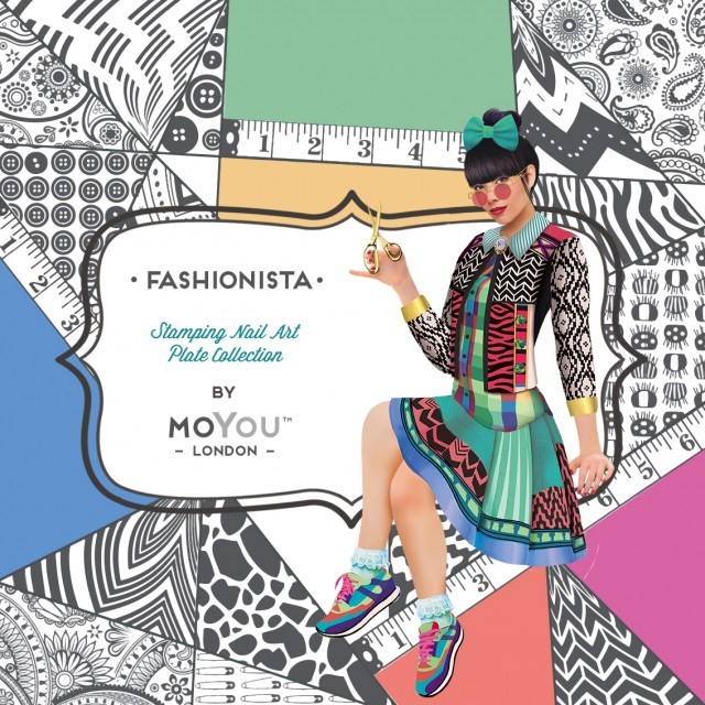 пластины для стемпинга MoYou-London Fashionista