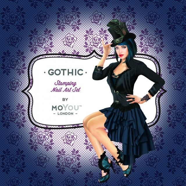 пластины для стемпинга MoYou-London Gothic