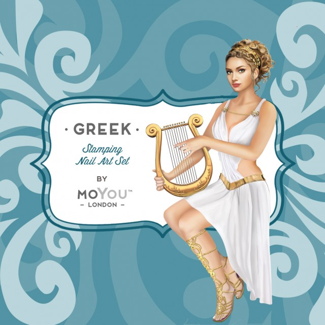 пластины для стемпинга MoYou-London Greek Mythology