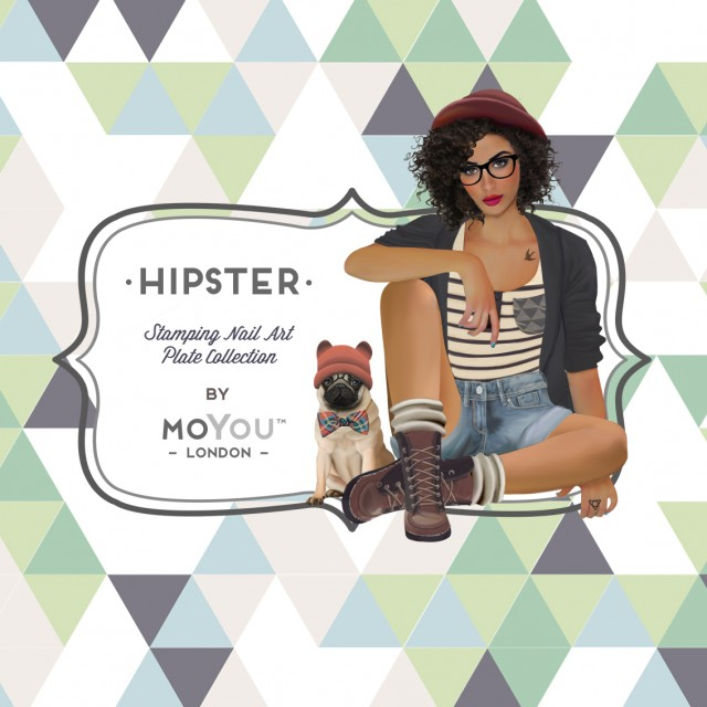 пластины для стемпинга MoYou-London Hipster