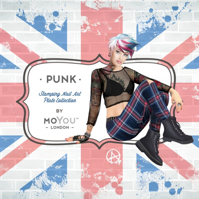 пластины для стемпинга MoYou-London Punk
