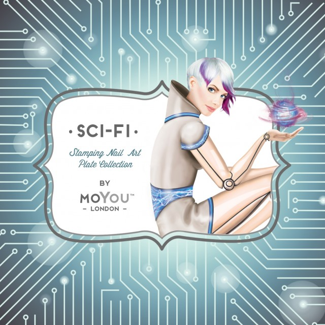 пластины для стемпинга MoYou-London Sci-Fi